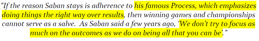 NYT Saban Process quote highlighted
